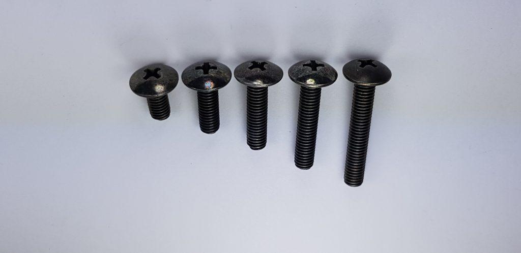 10 Tornillos de Rueda M14x1,25 Cabeza c/ónica SW17 28mm Longitud a Elegir para Llantas de Acero y Metal Ligero para BMW Mini